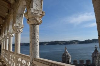 Torre de Belém balcony